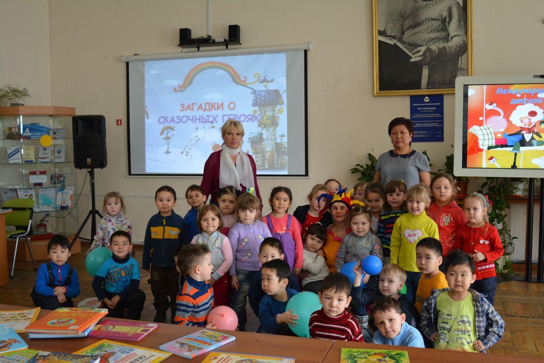 Экскурсия для воспитанников детского сада «Золушка»