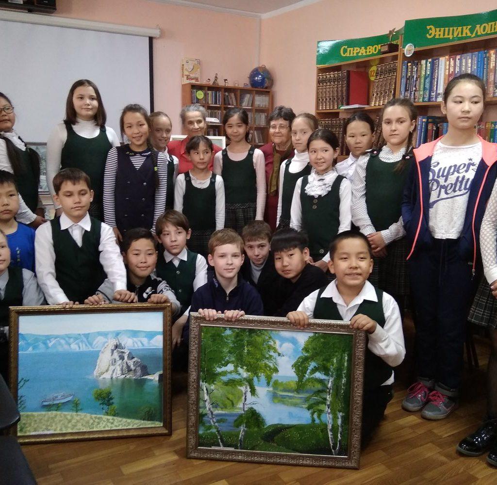 Персональная выставка художника Дьячковой Г.Г.