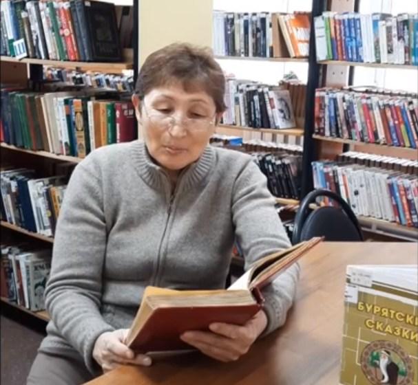 Проект «Читаем сказки с бабушкой Долгор»