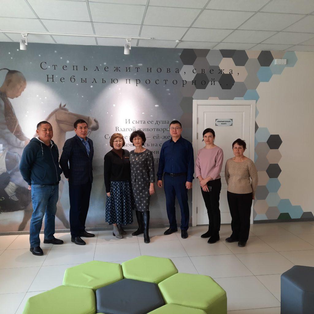 Рабочая поездка в Хоринск и Кижингу
